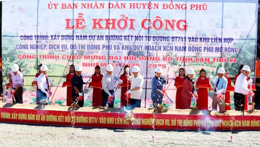 Đồng Phú: Phát triển nhanh như  Thánh Gióng  nhờ đầu tư hạ tầng và công nghiệp