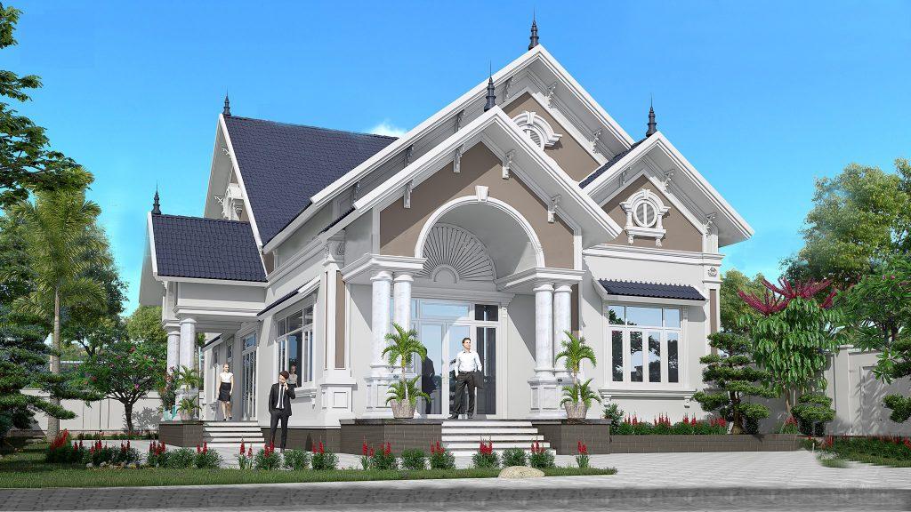9 mẫu biệt thự 1 tầng được ưa chuộng nhất trong năm 2021