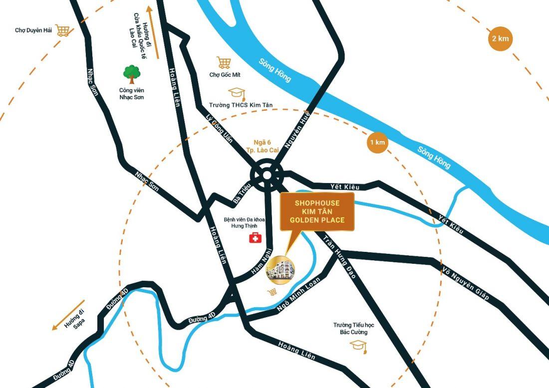 Shophouse Kim Tân Golden Place – Cơ hội sở hữu và đầu tư