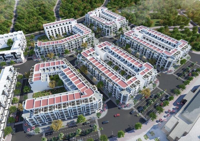 Nhà phố thương mại Kim Tân Golden Place Lào Cai 1