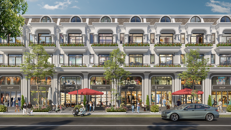 Nhà phố kinh doanh Calyx Residence Hà Nội
