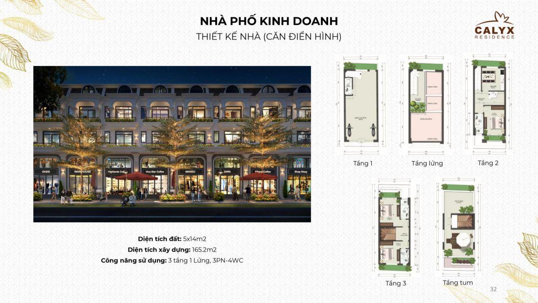 Khu nhà ở Calyx Residence Hà Nội 4
