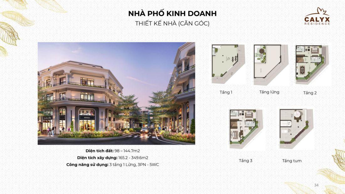 Khu nhà ở Calyx Residence Hà Nội 5