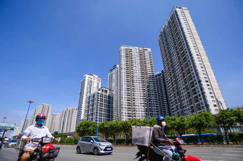 Giá nhà leo thang, căn hộ dưới 2 tỉ đồng ngày càng khó kiếm