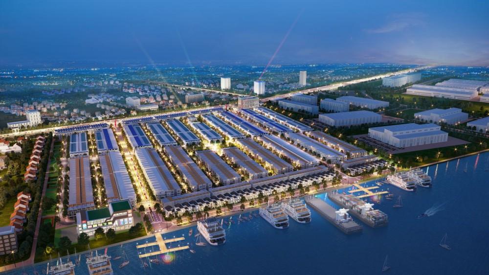 Quy mô dự án đất nềnVạn Phát Sông Hậu