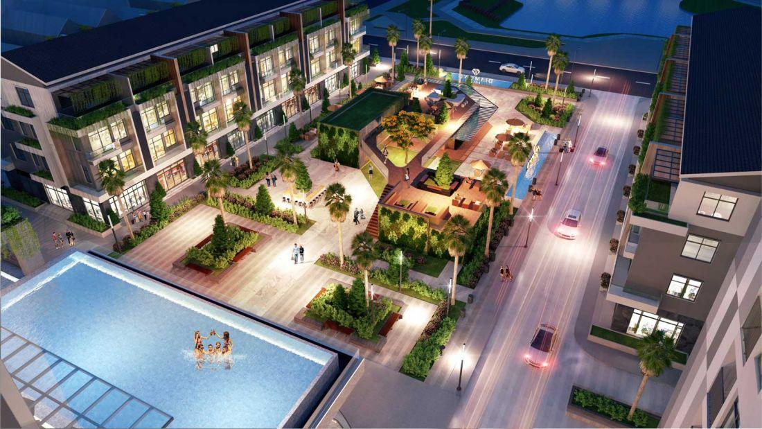 Tổ hợp căn hộ, nhà phố thương mại Diamond Hill Bắc Giang 10