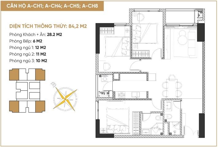 Tổ hợp căn hộ, nhà phố thương mại Diamond Hill Bắc Giang 3