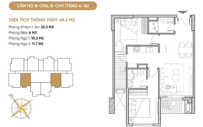 Tổ hợp căn hộ, nhà phố thương mại Diamond Hill Bắc Giang 6