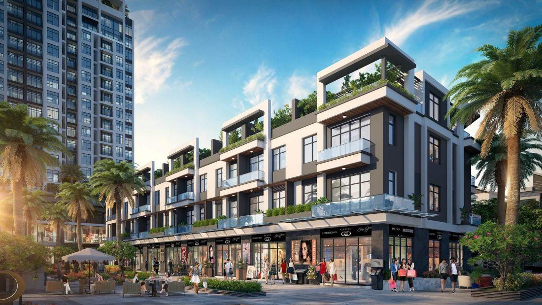 Tổ hợp căn hộ, nhà phố thương mại Diamond Hill Bắc Giang 7