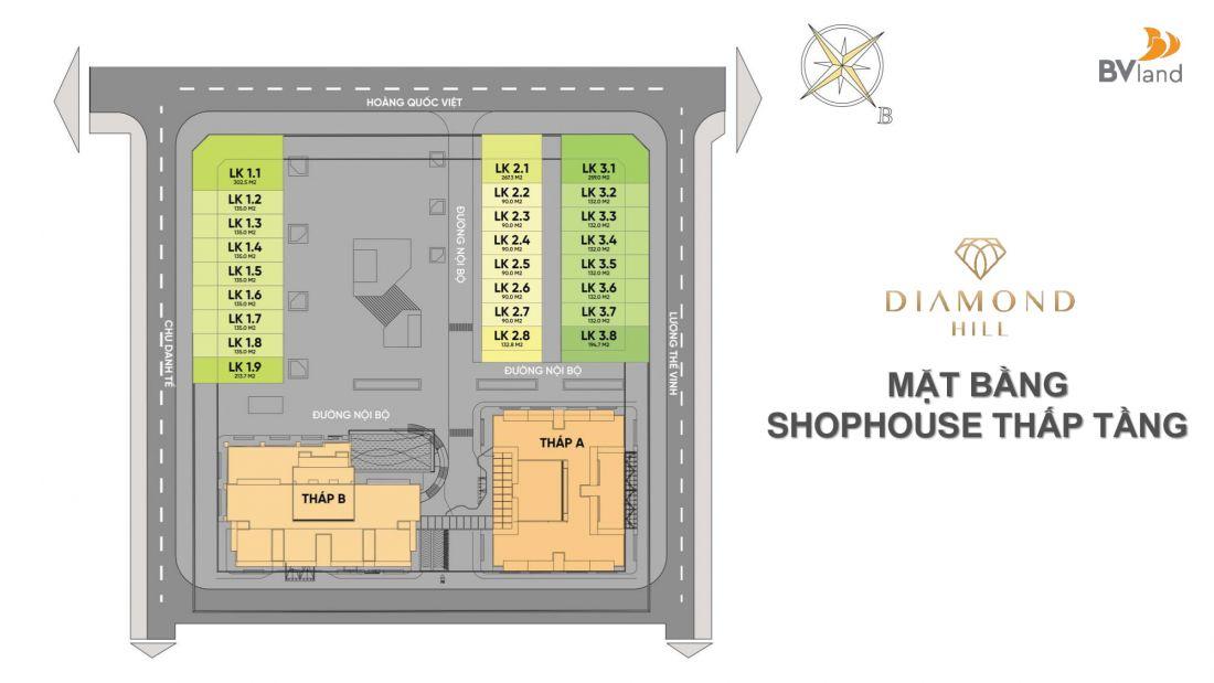 Tổ hợp căn hộ, nhà phố thương mại Diamond Hill Bắc Giang 8