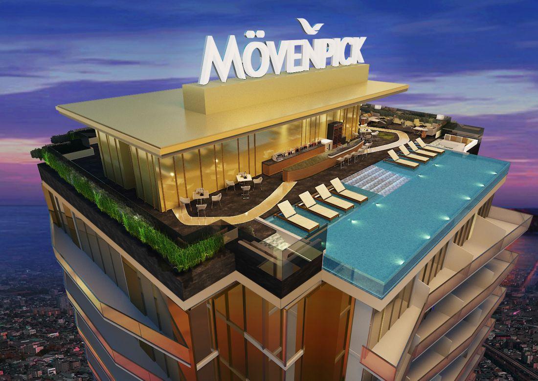 Tổ hợp khách sạn, shophouse Movenpick Central Quảng Bình 3