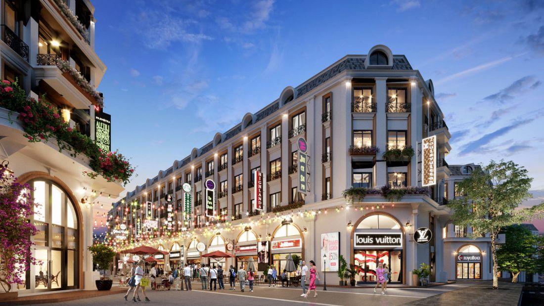 Tổ hợp nhà phố thương mại The Light City Đồng Xoài 5