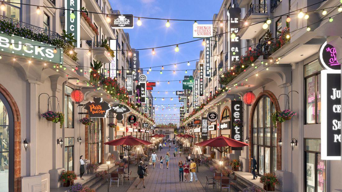 Tổ hợp nhà phố thương mại The Light City Đồng Xoài 8