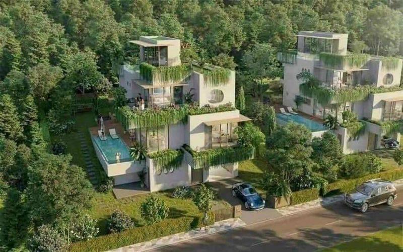 Tổ hợp nhà phố, biệt thự Swanbay Oasia Đại Phước