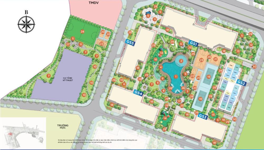 Phân khu The Miami dự án căn hộ Metrolines Smart City Hà Nội