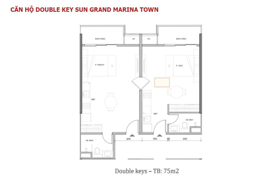 Căn hộ chung cư Sun Grand Marina Town Hạ Long