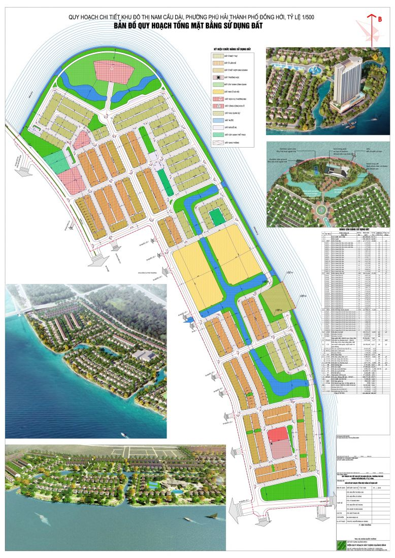 Khu dân cư Nam Cầu Dài Quảng Bình