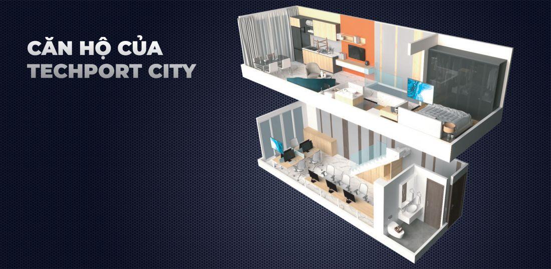 Tòa nhà văn phòng Techport City Bình Dương