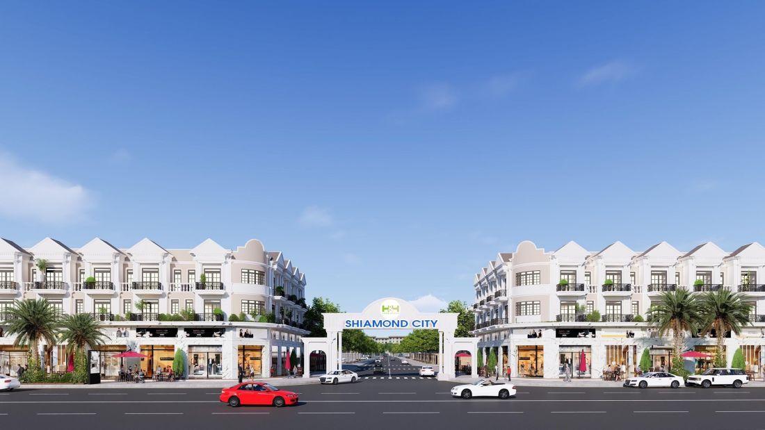 Phố thương mại Shiamond City Quảng Ngãi