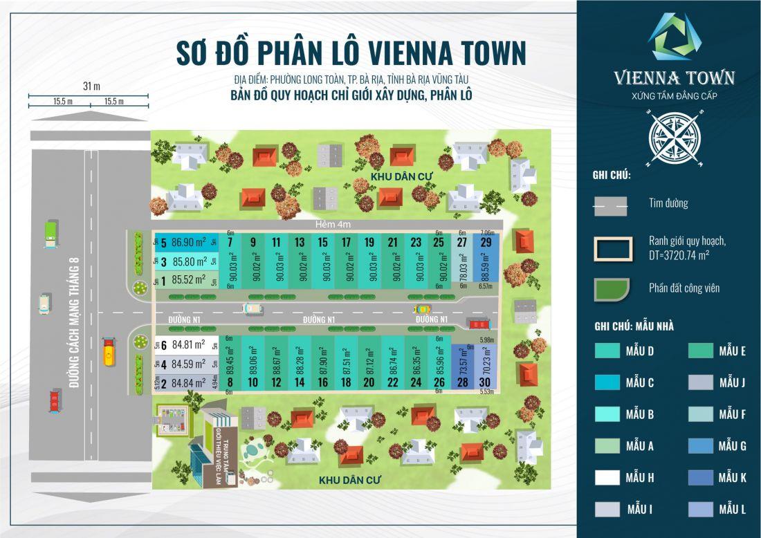 Khu dân cư Vienna Town Bà Rịa