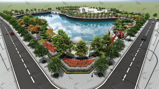 Phân khu Đại Lộc 2 - Khu đô thị Phú Quý Golden Land Hải Dương