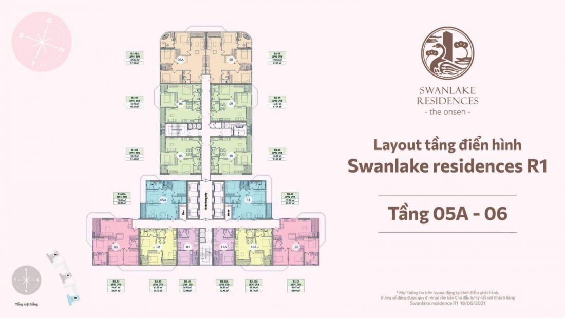 Dự án căn hộ SwanLake Residences The Onsen Ecopark