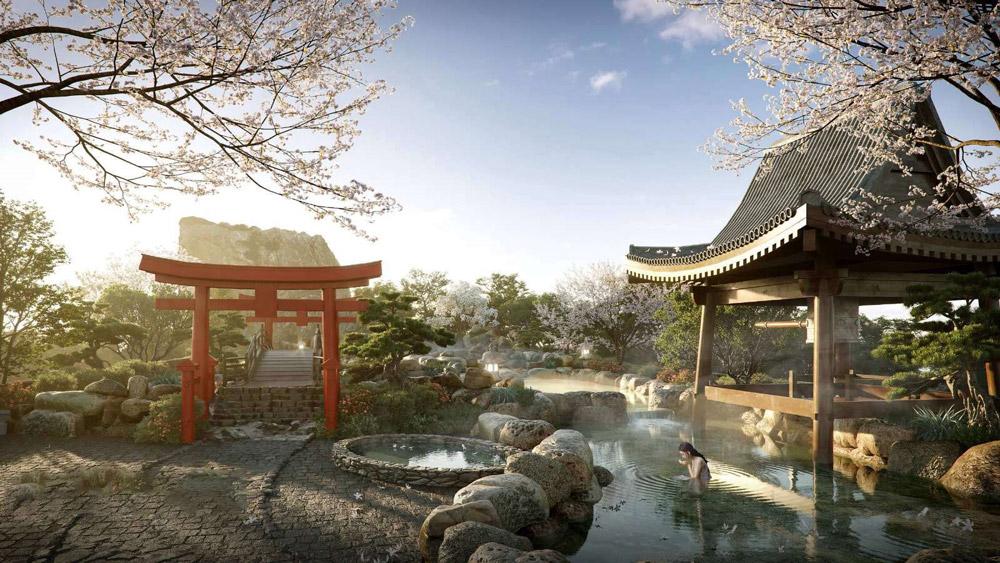 Tiện ích dự án căn hộ SwanLake Residences The Onsen Ecopark