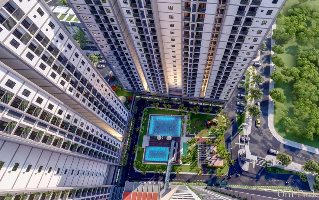 Căn hộ chung cư Uni Park Nam Sài Gòn