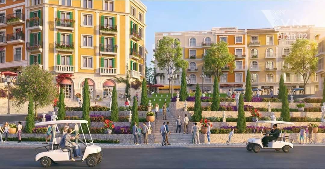 Tiện ích dự án phân khu Shophouse The Center Hillside Phú Quốc