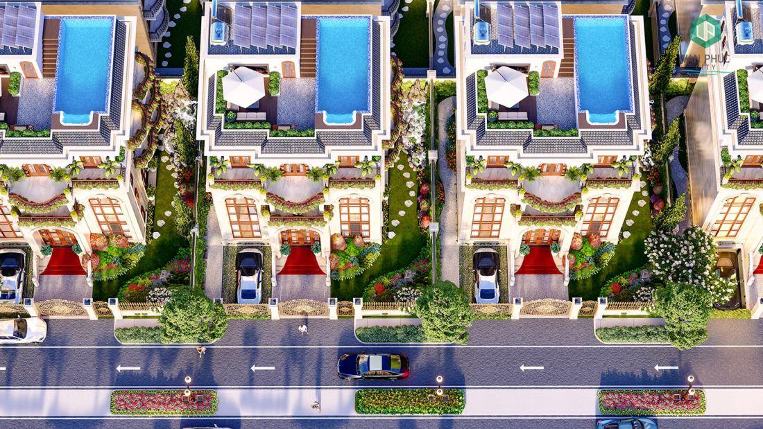 Khu biệt thự Jardin Villas Vạn Phúc City