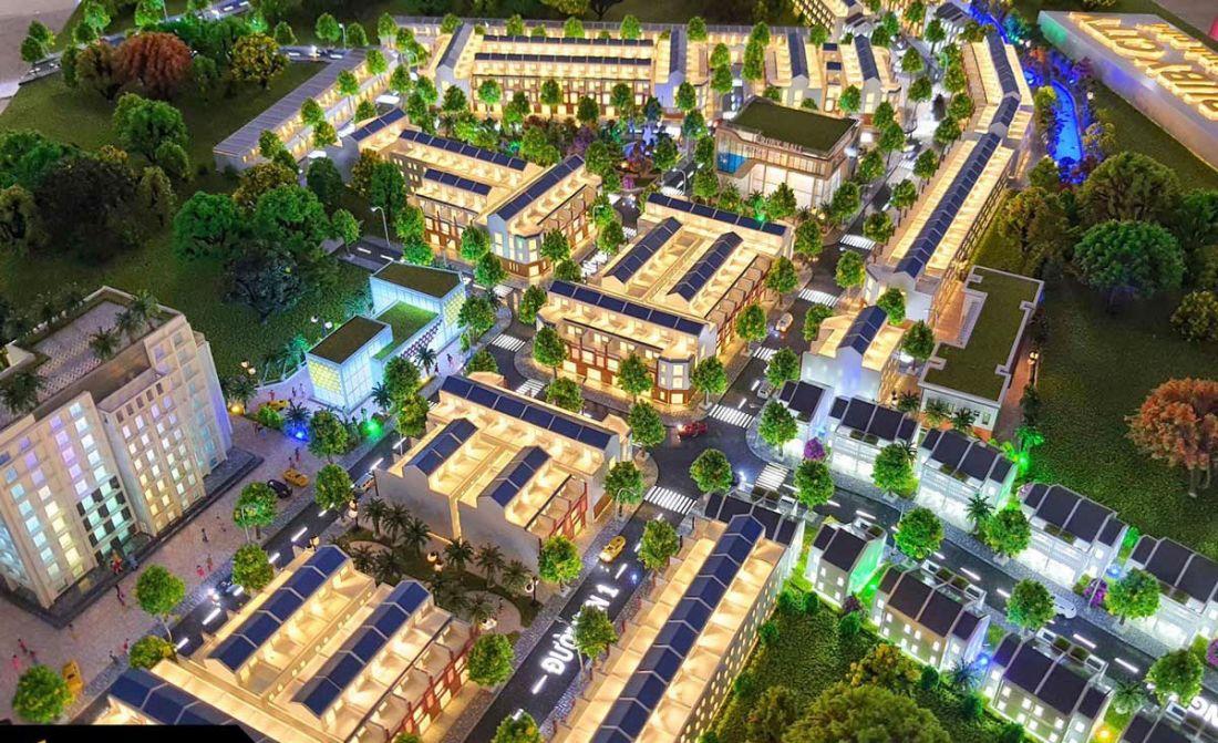 Quy mô dự án khu đôthị Ruby City Bình Phước
