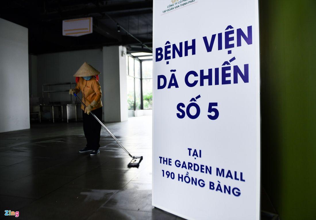 Bên trong bệnh viện dã chiến ở Thuận Kiều Plaza [NEW]