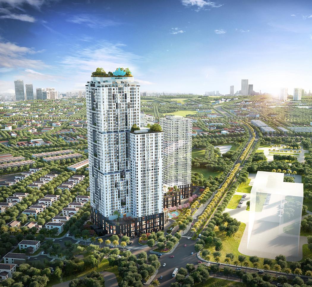 Quy mô dự án căn hộ Bid Residences Hà Nội
