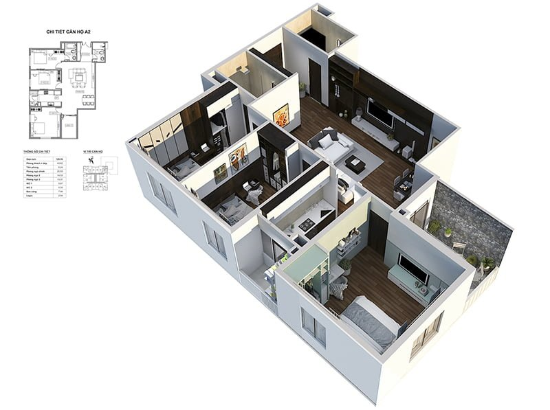 Căn hộ chung cư Bid Residences Hà Nội