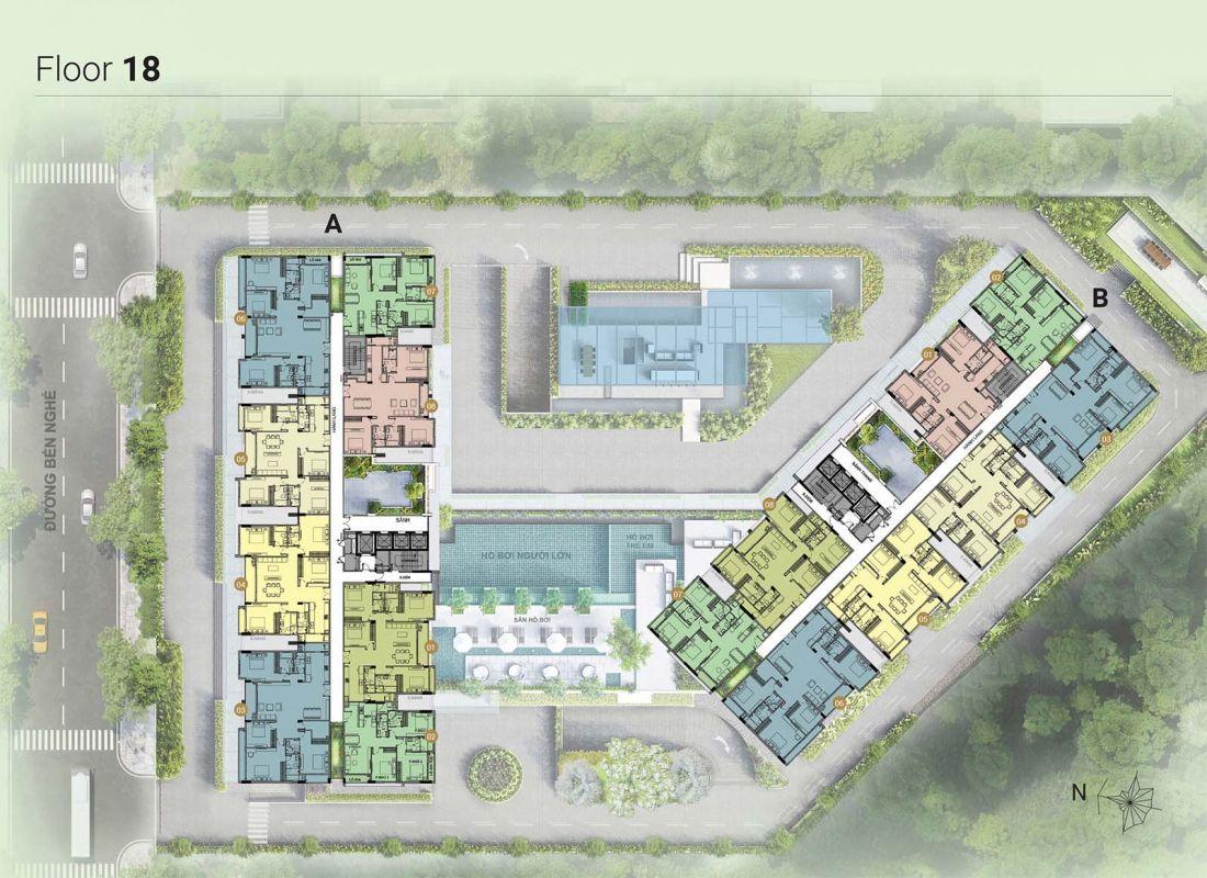 Căn hộ chung cư Asiana Riverside quận 7