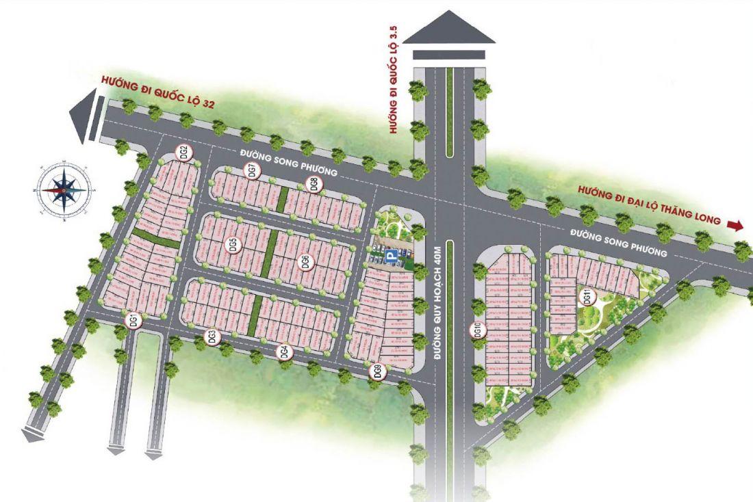 Mặt bằng dự án Sơn Đồng Center Hà Nội