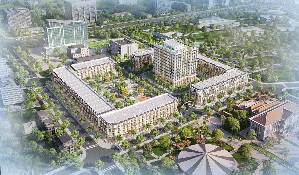 Quy mô dự ánD' Metropole Hà Tĩnh