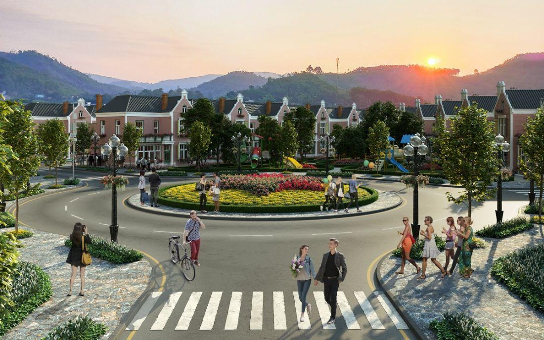 Khu đô thị La Vienna Valley Hòa Bình