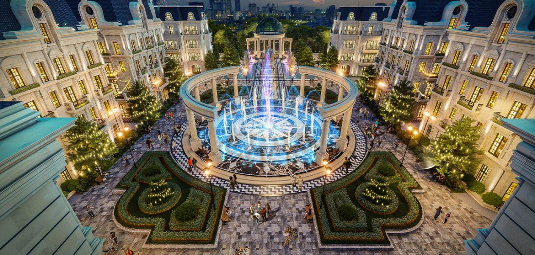 Quần thể đô thị khu thương mại, dịch vụ và tài chính Sunshine Capital Hà Nội