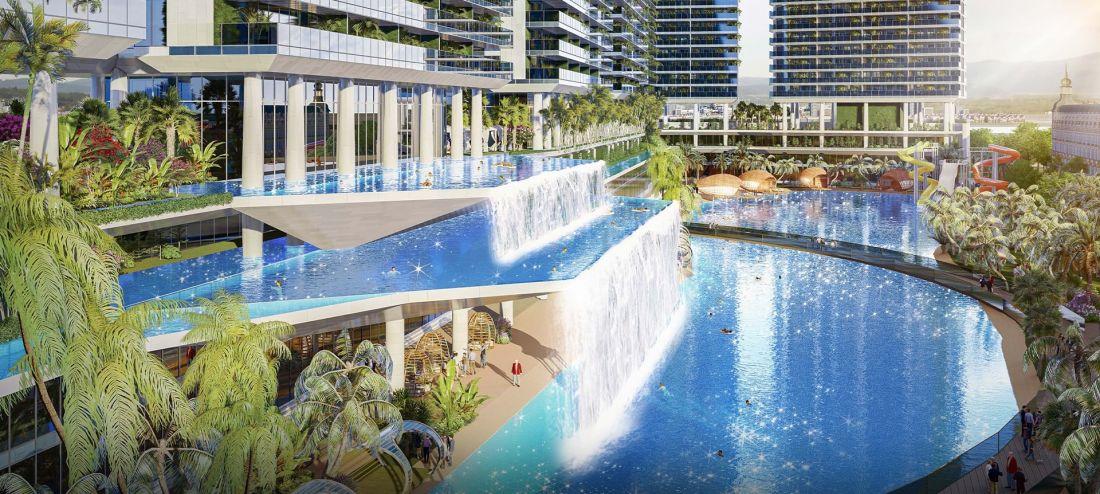 Tổ hợp căn hộ, thương mại dịch vụ Sunshine Capital Thanh Hóa