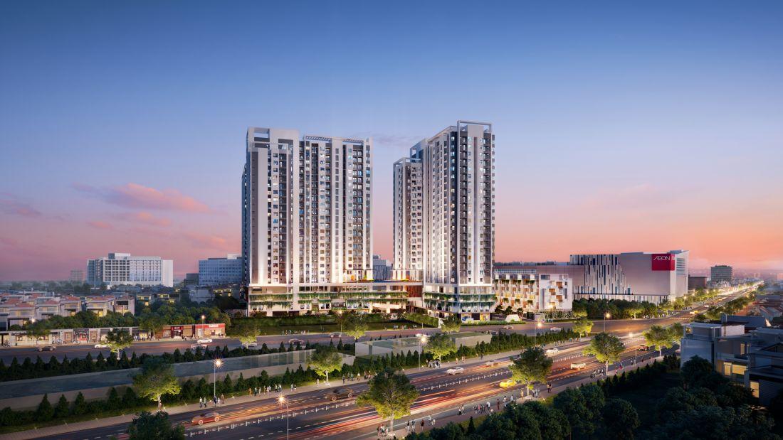 Quy mô dự án căn hộMoonlight Centre Point Bình Tân
