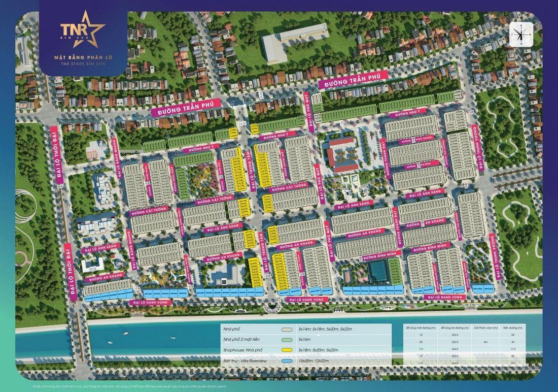 Khu đô thị TNR Stars Bỉm Sơn