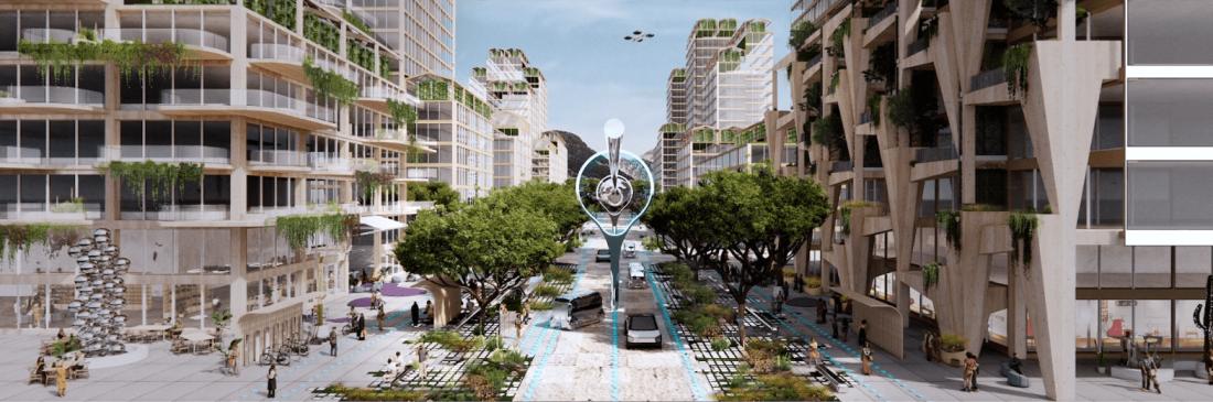 Công bố thiết kế thành phố hiện đại tiên phong bền vững nhất thế giới tại Mỹ