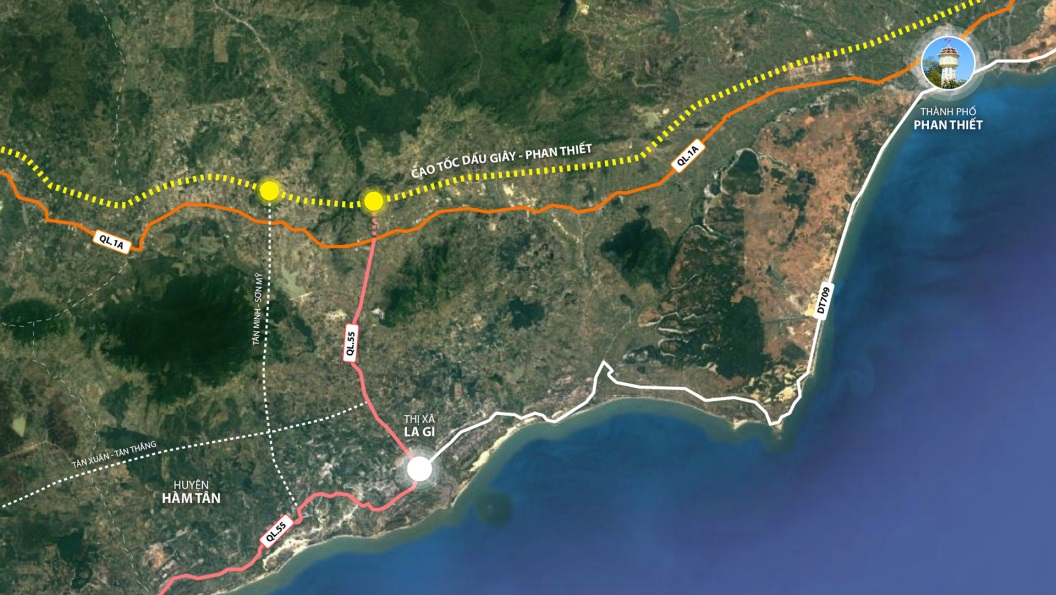 Cao tốc Dầu Giây – Phan Thiết đảm bảo tiến độ, khu vực nào hưởng lợi khi dự án hoàn thành?
