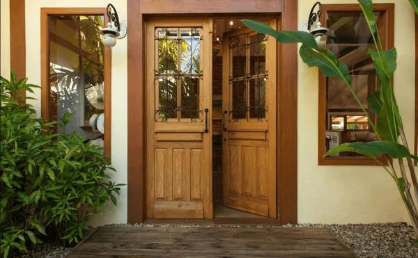 Những lưu ý khi bố trí cửa chính của ngôi nhà