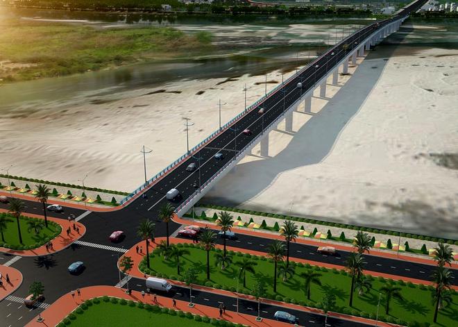 Quảng Ngãi: Thúc tiến độ dự án cầu 850 tỉ đồng bắc qua sông Trà Khúc