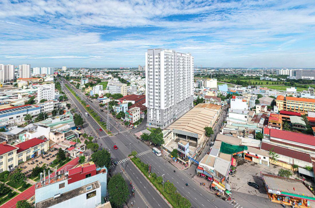 Căn hộ khu Tây Sài Gòn thu hút người miền Tây