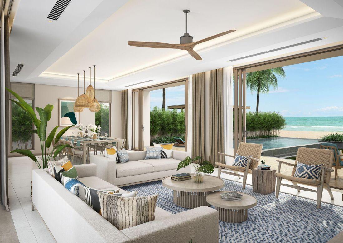 VinaLiving ra mắt dự án biệt thự biển The Ocean Villas Quy Nhơn