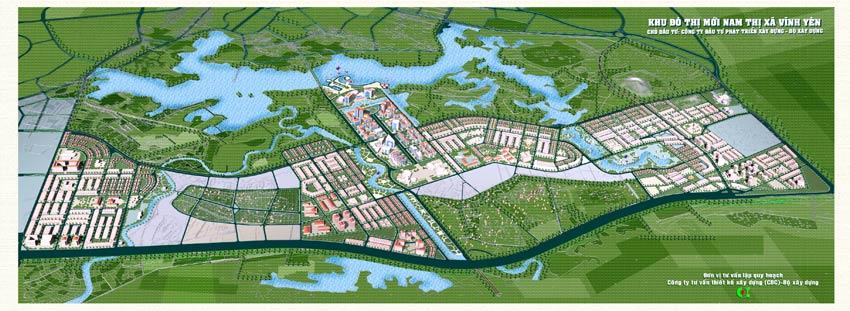Khu đô thị Nam Vĩnh Yên
