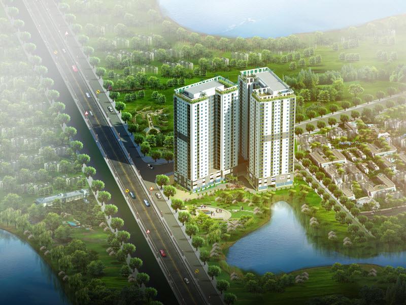 Ngày 31/10/2015: Khai trương căn hộ mẫu Hateco Hoàng Mai